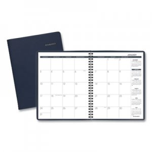 At-A-Glance Monthly Planner, 6 7/8 x 8 3/4, Navy, 2019 AAG7012020 7012020