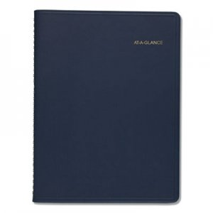 At-A-Glance Monthly Planner, 8 7/8 x 11, Navy, 2020-2021 AAG7026020 7026050