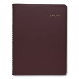 At-A-Glance Monthly Planner, 8 7/8 x 11, Winestone, 2020-2021 AAG7026050 7026050