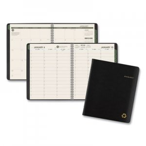 At-A-Glance Recycled Weekly/Monthly Classic Appointment Book, 7 x 8 3/4, Black, 2020 AAG70951G05 70951G05