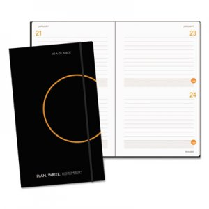 At-A-Glance Plan. Write. Remember. Planning Notebook Two Days Per Page, 5 x 8 1/4, Black AAG80612105 80612105