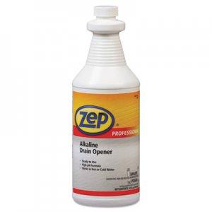 Zep Professional Alkaline Drain Opener Quart Bottle AMR1041423EA 1041423EA