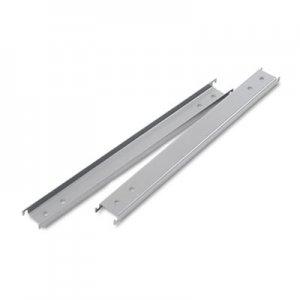 "Alera Three Row Hangrails for 42"" Files, Aluminum, 2/Pack ALELF42"