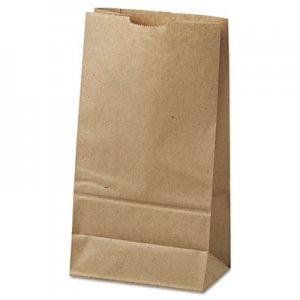 """Genpak Grocery Paper Bags, 6"""" x 11.06"""", Kraft, 500 Bags BAGGK6500 18406"""