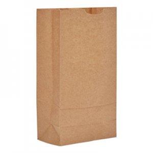 """Genpak Grocery Paper Bags, 6.31"""" x 13.38"""", Kraft, 500 Bags BAGGK10500 18410"""