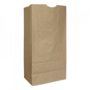 """Genpak Grocery Paper Bags, 7.75"""" x 16"""", Kraft, 500 Bags BAGGX16 30916"""