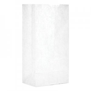 """Genpak Grocery Paper Bags, 5"""" x 9.75"""", White, 500 Bags BAGGW4500 WB04NP5C"""