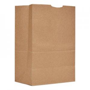 "Genpak Grocery Paper Bags, 52 lbs Capacity, 1/6 BBL, 12""w x 7""d x 17""h, Kraft, 500"