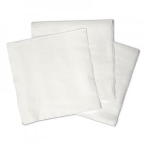 "Boardwalk 1/4-Fold Lunch Napkins, 1-Ply, 12"" x 12"", White, 6000/Carton BWK8310W BWK8310"