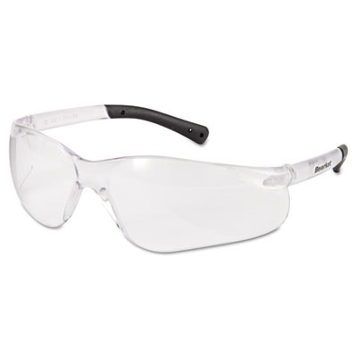 Crews BearKat Safety Glasses, Frost Frame, Clear Lens BK110AF CRWBK110AF 135-BK110AF
