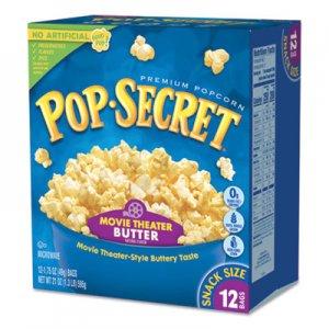 Pop Secret Microwave Popcorn, Movie Theatre Butter, 1.75 oz Bags, 10/Box DFD28783 112476
