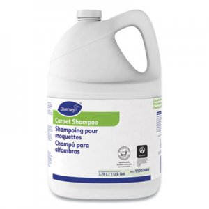 Diversey Carpet Shampoo, Floral, 1gal Bottle, 4/Carton DVO95002689 95002689