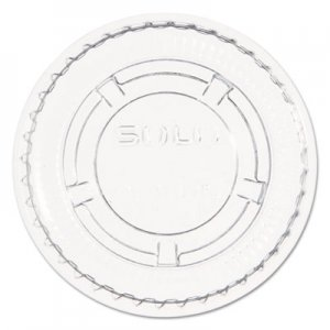 Dart Portion/Souffle Cup Lids. Fits .5-1oz Cups, Clear, 2500/Carton DCCPL100N PL100N