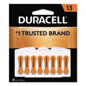 Duracell Button Cell Lithium Battery, #13, 8/Pk DURDA13B8ZM09 DA13B8