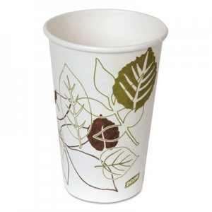 Dixie Pathways Paper Hot Cups, 16oz, 20/Pack DXE2346PATHPK 2346PATH