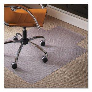 ES Robbins Natural Origins Chair Mat With Lip For Carpet, 45 x 53, Clear ESR141042 141042