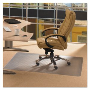 Floortex Cleartex Advantagemat Phthalate Free PVC Chair Mat for Low Pile Carpet, 53 x 45, Clear FLRPF1113425EV PF1113425EV