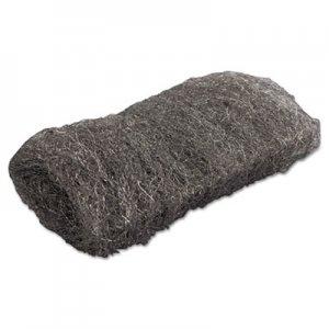 GMT Industrial-Quality Steel Wool Hand Pad, #1 Medium, 16/Pack, 192/Carton GMA117004 117004