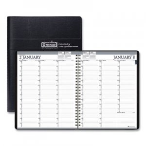 House of Doolittle Recycled Two-Year Professional Weekly Planner, 11 x 8 1/2, Black, 2020-2021 HOD272002 2720-02