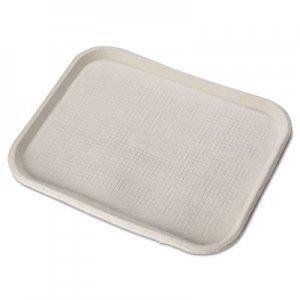 Chinet Savaday Molded Fiber Food Trays, 14 x 18, White, Rectangular, 100/Carton HUH20804CT 20804