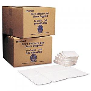 Koala Kare Baby Changing Station Sanitary Bed Liners, 13 x 19, White, 500/Carton KKPKB15099 KB150-99