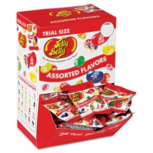 Jelly Belly Jelly Beans, Assorted Flavors, 80/Dispenser Box OFX72512 72512