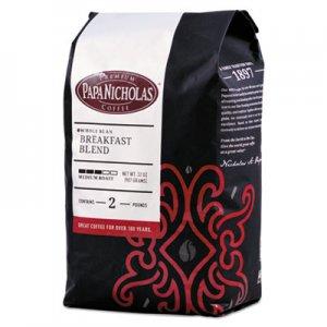 PapaNicholas Coffee Premium Coffee, Whole Bean, Breakfast Blend PCO32006 32006