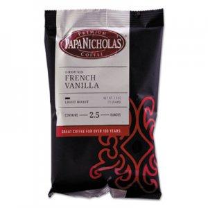 PapaNicholas Coffee Premium Coffee, French Vanilla, 18/Carton PCO25188 25188