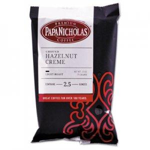 PapaNicholas Coffee Premium Coffee, Hazelnut Creme, 18/Carton PCO25187 25187