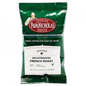 PapaNicholas Coffee Premium Coffee, Decaffeinated French Roast, 18/Carton PCO25186 25186