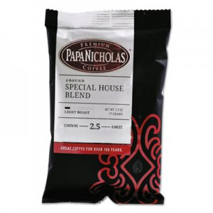 PapaNicholas Coffee Premium Coffee, Special House Blend, 18/Carton PCO25185 25185