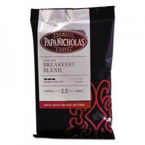 PapaNicholas Coffee Premium Coffee, Breakfast Blend, 18/Carton PCO25184 25184