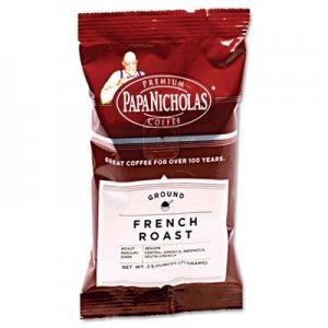 PapaNicholas Coffee Premium Coffee, French Roast, 18/Carton PCO25183 25183