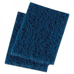 Boardwalk Extra Heavy-Duty Scour Pad, 3 1/2 x 5, Blue/Gray, 20/Carton BWK188 88BWK HD