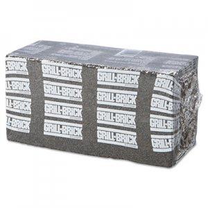 Boardwalk Grill Brick, 8 x 4, Black, 12/Carton BWKGB12PC GB12PC