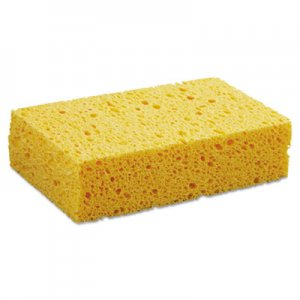 "Boardwalk Medium Cellulose Sponge, 3 2/3 x 6 2/25"", 1.55"" Thick, Yellow, 24/Carton BWKCS2 C31BWK"