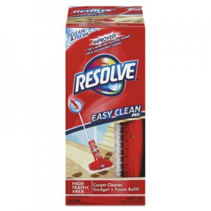 RESOLVE Easy Clean Carpet Cleaning System W/Brush, Foam, 22 oz RAC82844 19200-82844