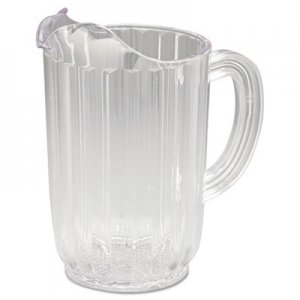 Rubbermaid Commercial Bouncer Plastic Pitcher, 32oz, Clear RCP3336CLE FG333600CLR