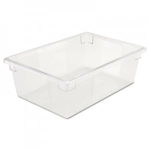 Rubbermaid Commercial Food/Tote Boxes, 12 1/2gal, 26w x 18d x 9h, Clear RCP3300CLE FG330000CLR