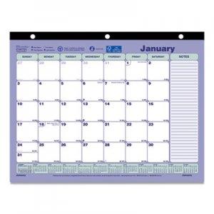 Brownline Monthly Desk Pad Calendar, 11 x 8 1/2, 2019 REDC181721 C181721