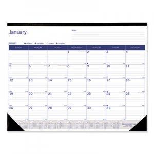 Blueline DuraGlobe Monthly Desk Pad Calendar, 22 x 17, 2020 REDC177227 C177227