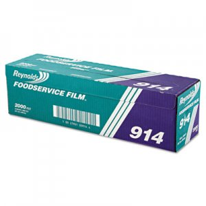 "Reynolds Wrap PVC Film Roll with Cutter Box, 18"" x 2000 ft, Clear RFP914 000000000000000914"