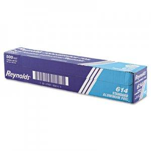 "Reynolds Wrap Standard Aluminum Foil Roll, 18"" x 500 ft, Silver RFP614 000000000000000614"