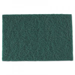 AmerCareRoyal Medium-Duty Scouring Pad, 6 x 9, Green, 60/Carton RPPS960 S960