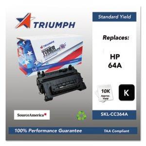 Triumph Remanufactured CC364A (64A) Toner, 10000 Page-Yield, Black SKLCC364A SKL-CC364A