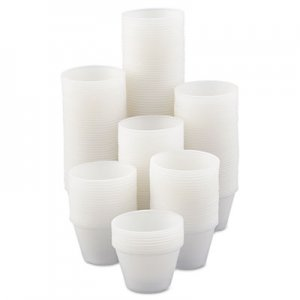 Dart Polystyrene Portion Cups, 4oz, Translucent, 250/Bag, 10 Bags/Carton DCCP400N DCC P400-0100