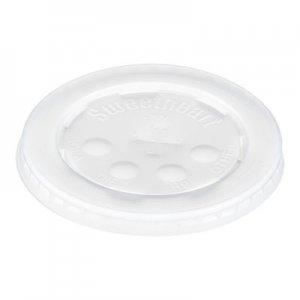 Dart Polystyrene Cold Cup Lids, 16-24 oz Cups, Translucent, 125/Pack, 16 Packs/Carton SCCL16BL L16BL-0100