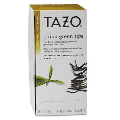 Tazo Tea Bags, China Green Tips, 24/Box TZO153961 TJL20130