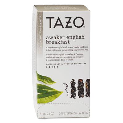 Tazo Tea Bags, Awake English Breakfast, 24/Box TZO149898 TJL20070