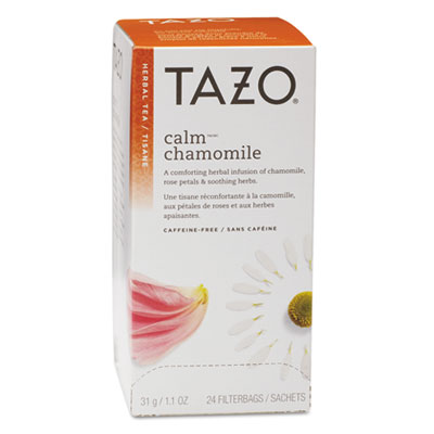 Tazo Tea Bags, Calm Chamomile, 24/Box TZO149901 TJL20020